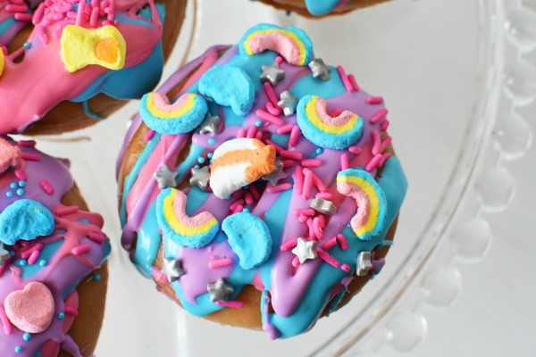 Rainbow Unicorn Donuts1