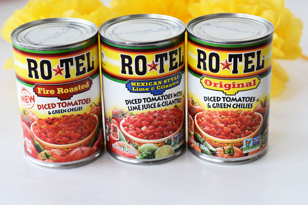 Rotel Cans
