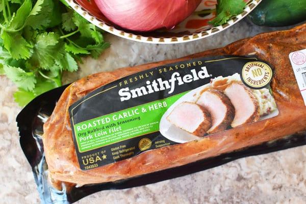 Smithfield Roasted Garlic and Herb Pork Tenderloin