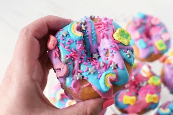 Unicorn Lucky Charms Donut1
