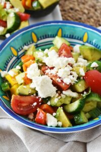 Avocado Feta Salad & Why I Choose to Be Heart Healthy