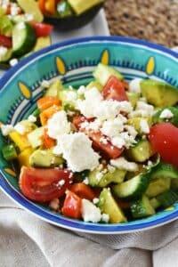 Avocado Feta Salad & Why I Choose to Be Heart Healthy