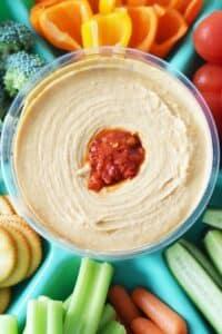 Easy Hummus Appetizer Platter