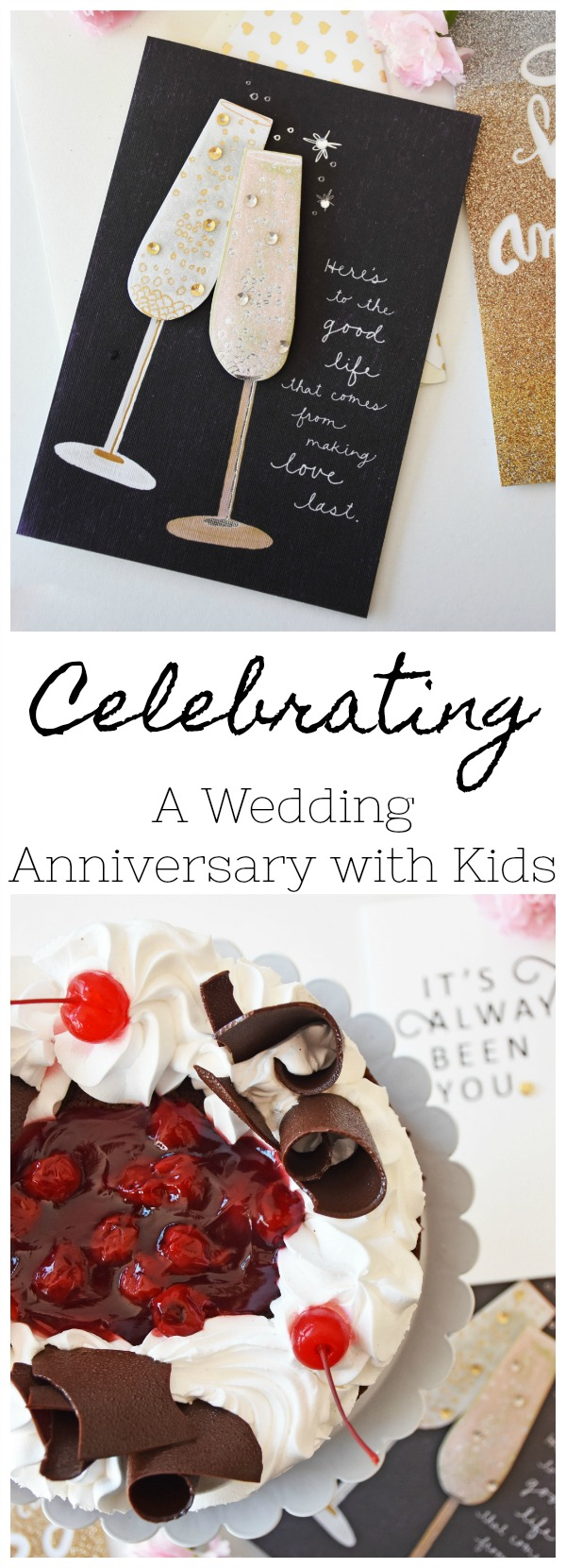 Celebrating our Wedding Anniversary with Kids
