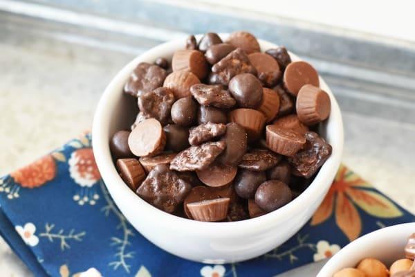 Chocolate sundae mix