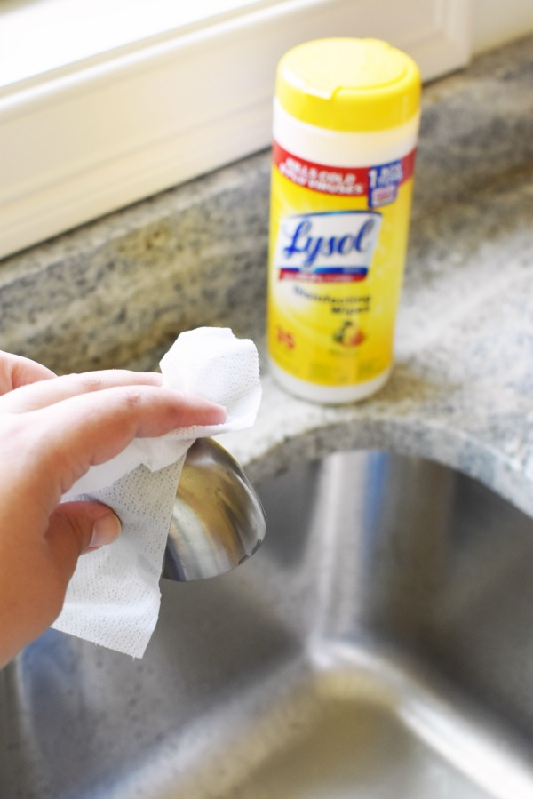 Lysol On Kitchen Sink