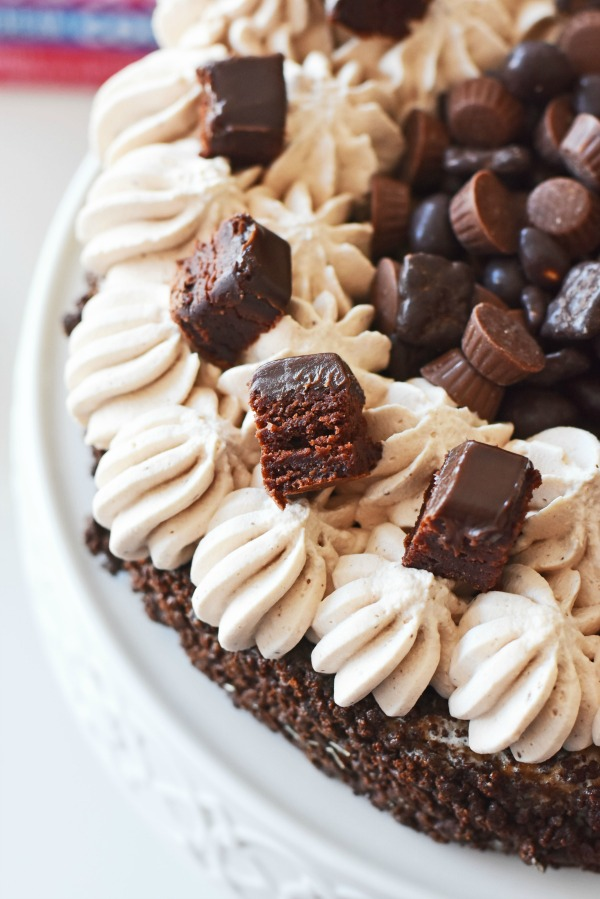 Death by chocolate ice cream cake diy1