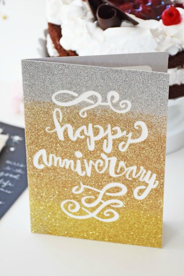 Hallmark Signature Anniversary card