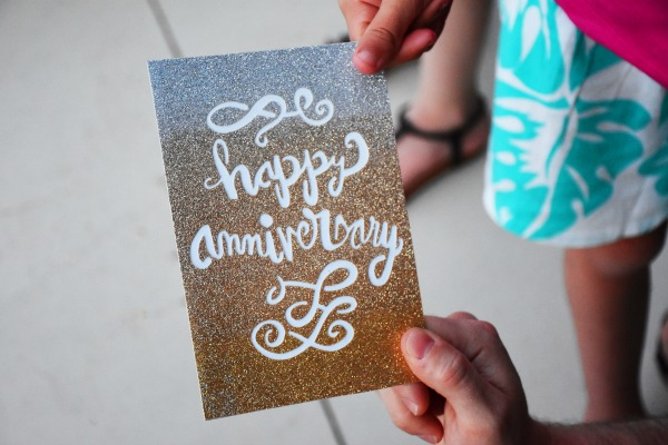 Hallmark Signature Wedding Anniversary Card