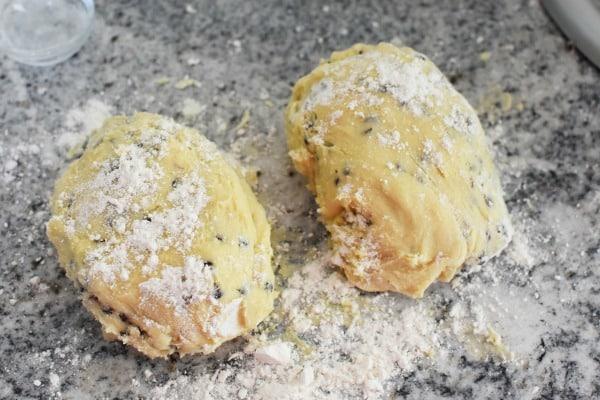 Biscotti Dough1
