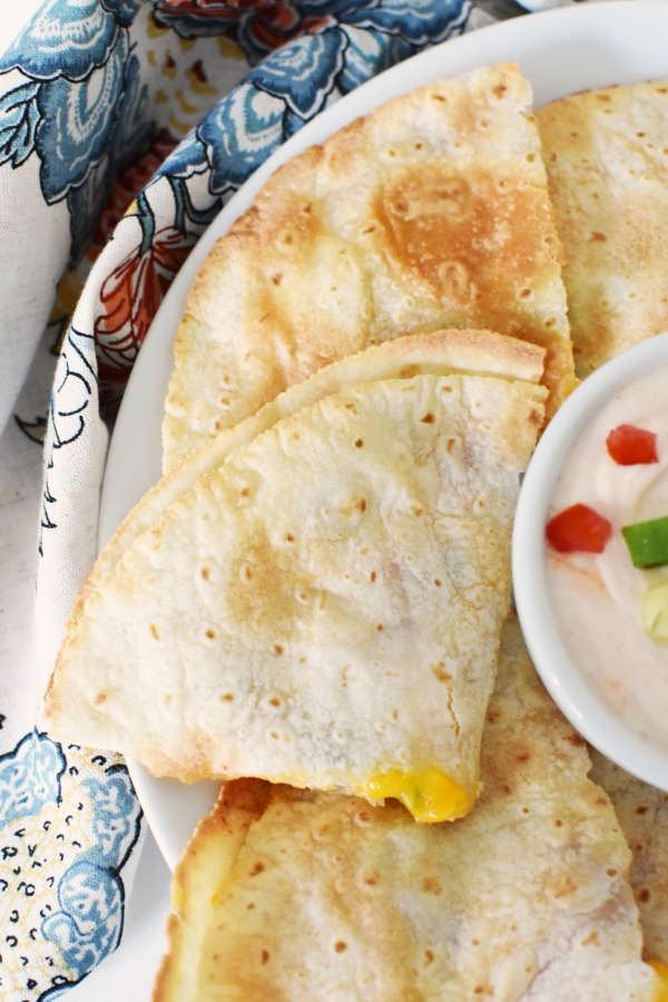 Cream Cheese Chicken Quesadilla1