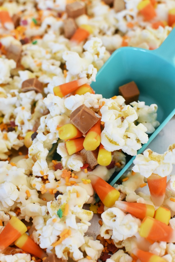 Harvest Candy Corn Popcorn Snack1