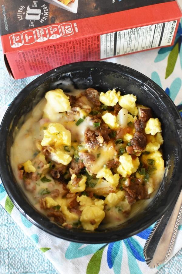 Jimmy Dean Sausage Breakfast Bowl1