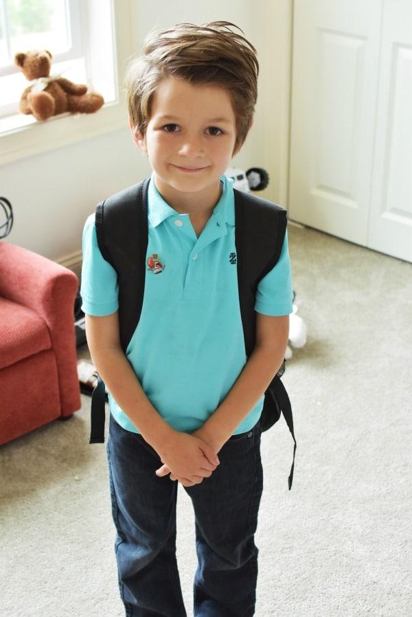 Kindergarten Boy with Backpack1