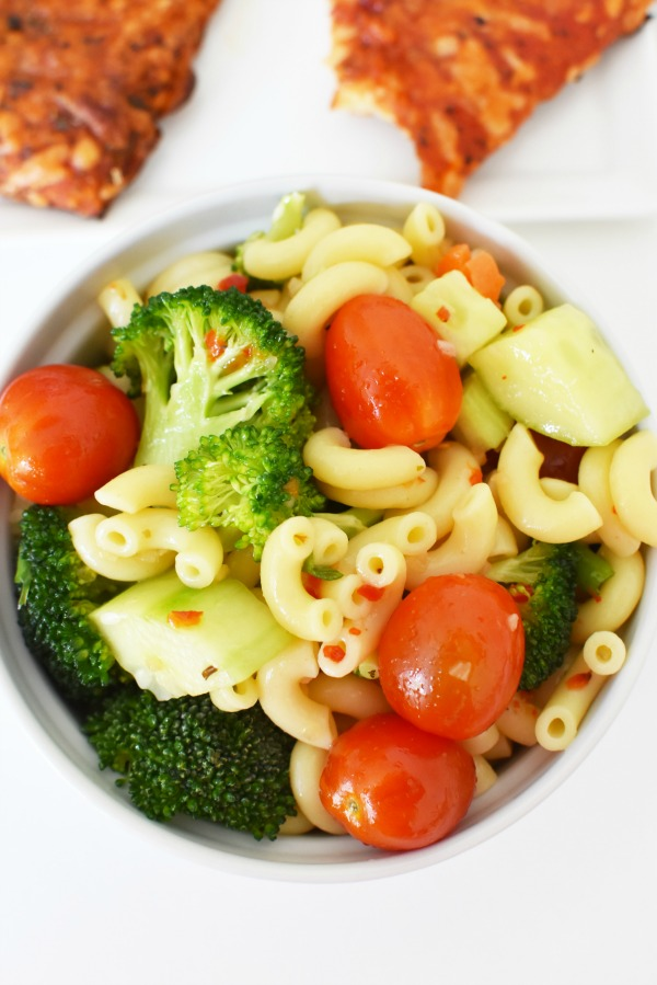 Vegetable Pasta Salad1