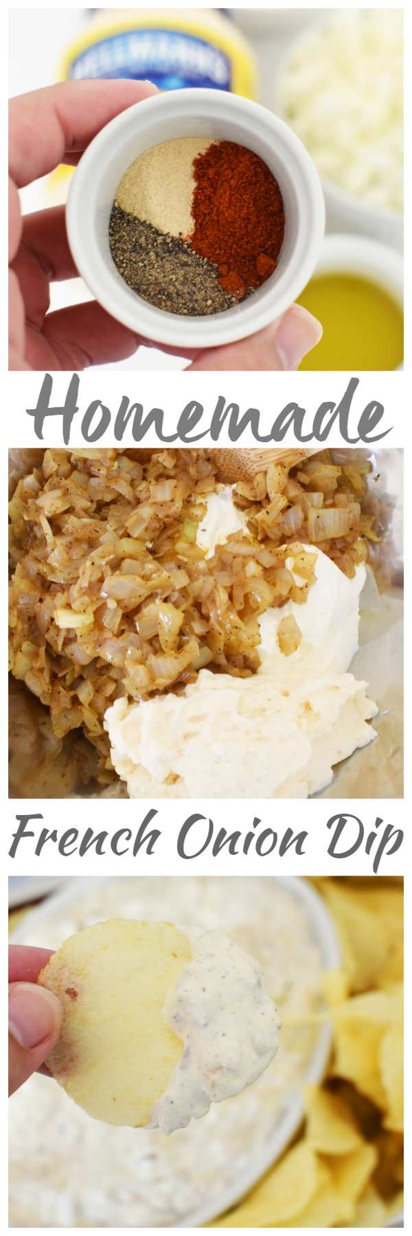 Homemade Caramelized French Onion Dip