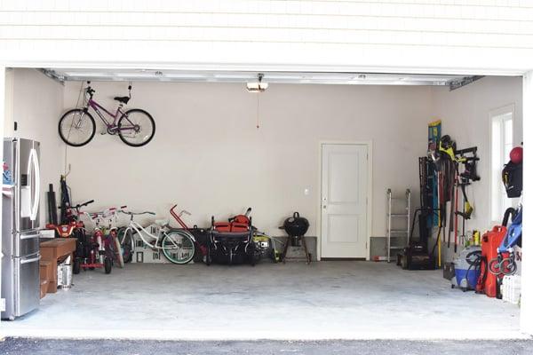 Organized 2 Stall Garage