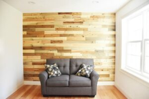 DIY Reclaimed Wood Accent Wall with Timberchic!