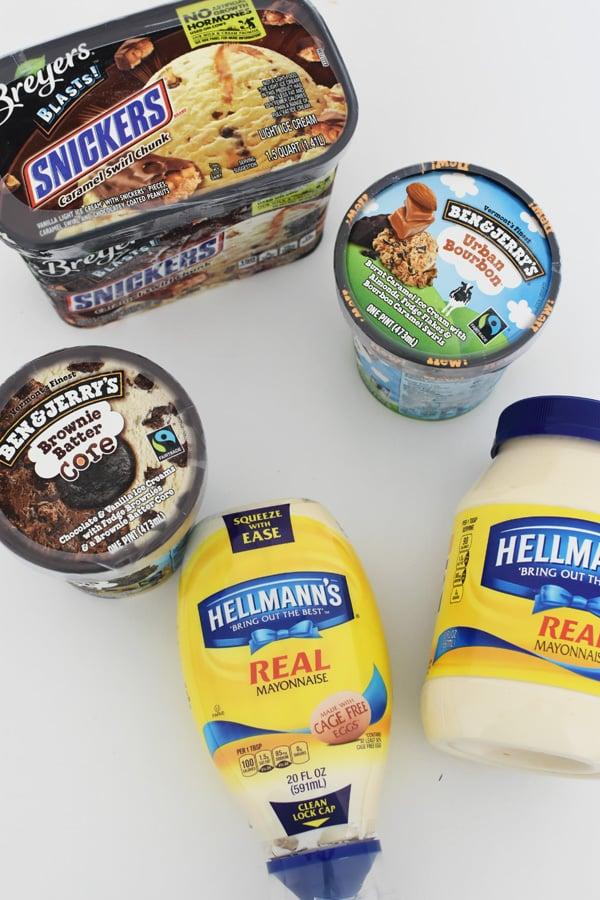 unilever ice cream products