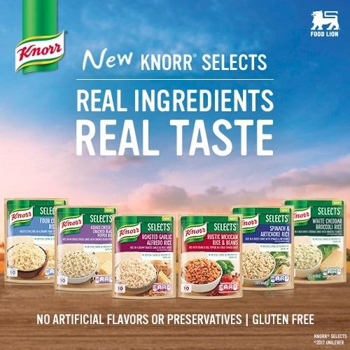 Knorr at Food Lion