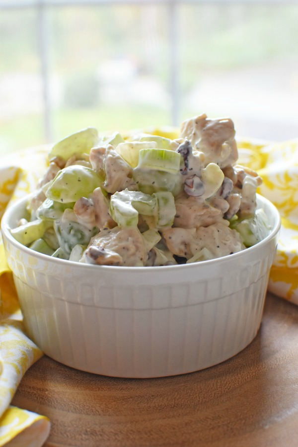 grape chicken cranberry salad1