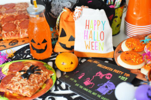 Kids Halloween Pizza Party Ideas