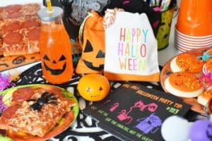 Kids Halloween Pizza Party Ideas