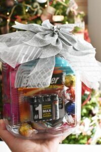 Why You Should Gift Batteries & a Mason Jar Christmas Gift