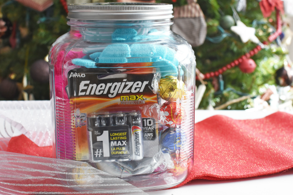 Mason Jar with presents inside gift idea1
