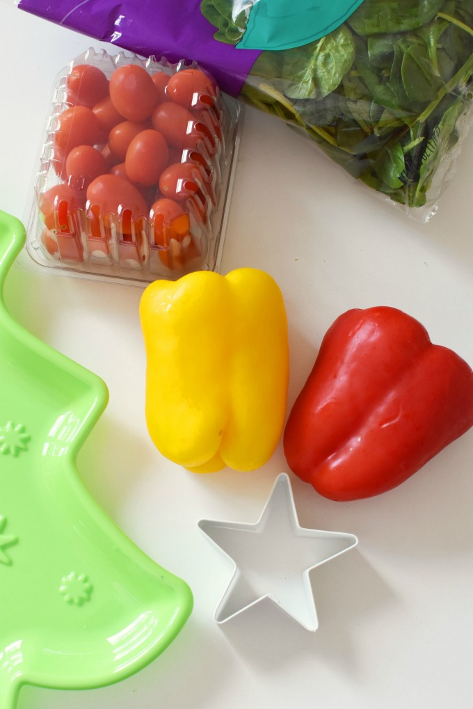 Bell Peppers with star cookie cutter1