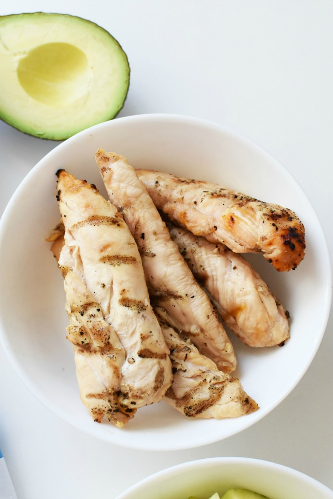 Grilled Chicken strips1