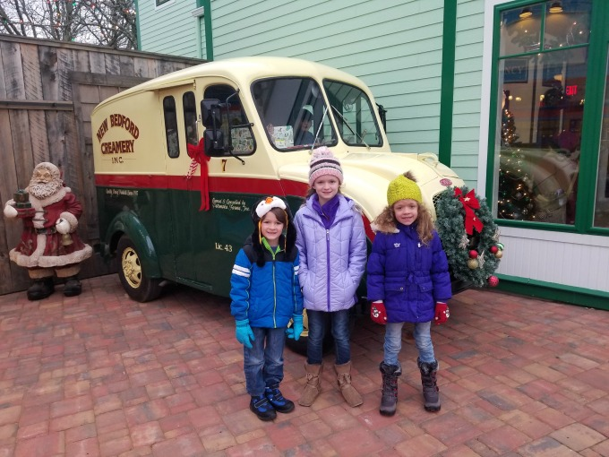 New Bedford Creamery Truck at Edaville