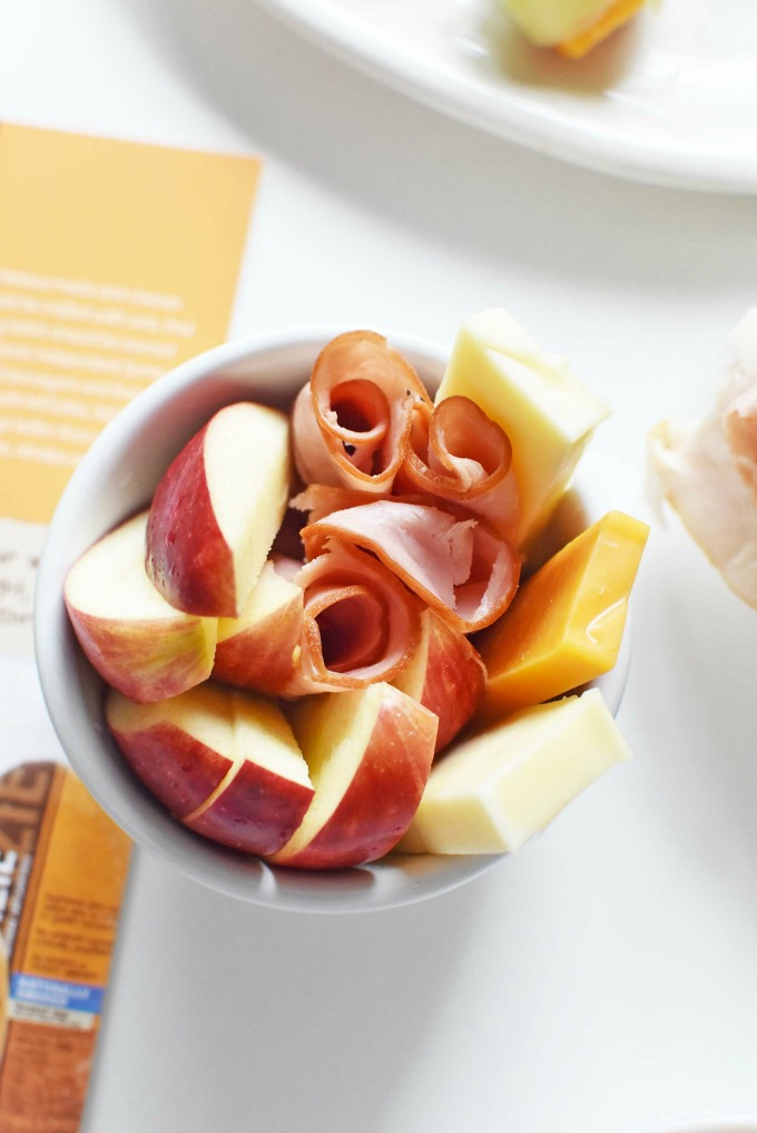 McKenzie Deli ham off the bone with apples and cheddar1
