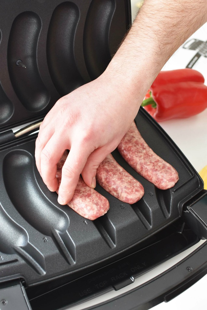 Sizzling Sausage Grill Cooking Brats1