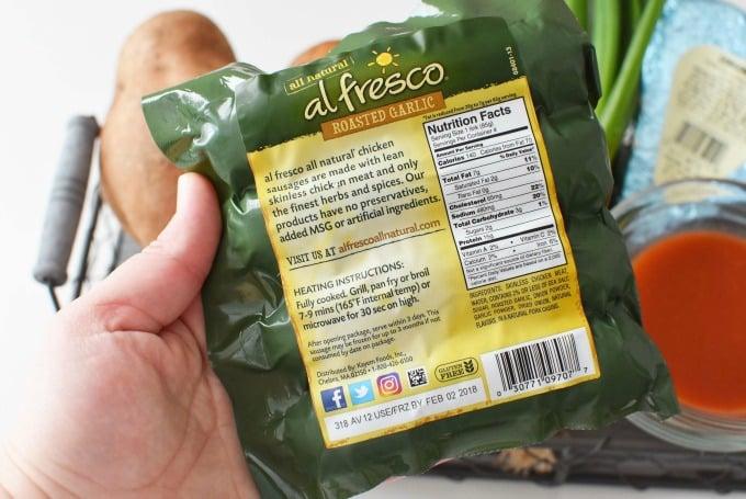al Fresco Roasted Garlic Sausage1