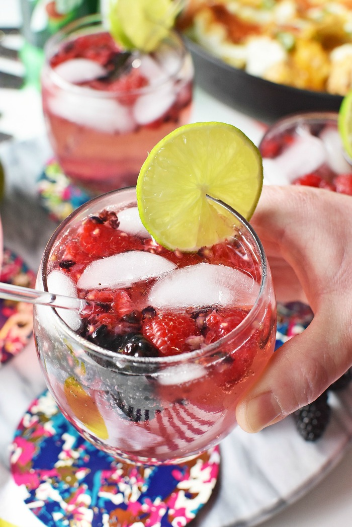 Berry Delicious Mocktail1
