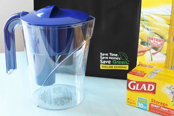 Brita Pitcher and Glad at Dollar General1
