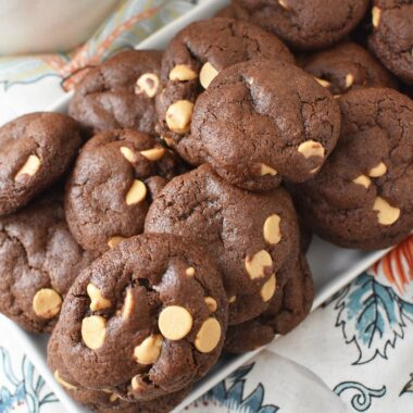 Cocoa Peanut Butter Cookies1