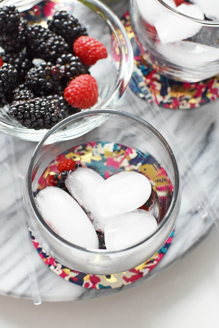 Ice Cubes in Mocktail1