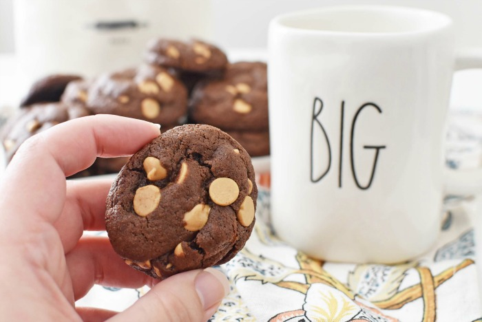 Peanut Butter Chocolate Cookies1