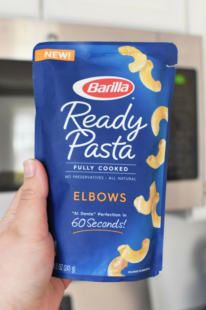 Barilla Ready pasta in microwave 1