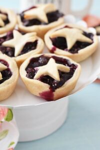 Mini Blueberry Pies Easily Made in a Muffin Tin
