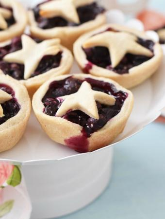 Mini blueberry Pies in a Muffin Tin 1