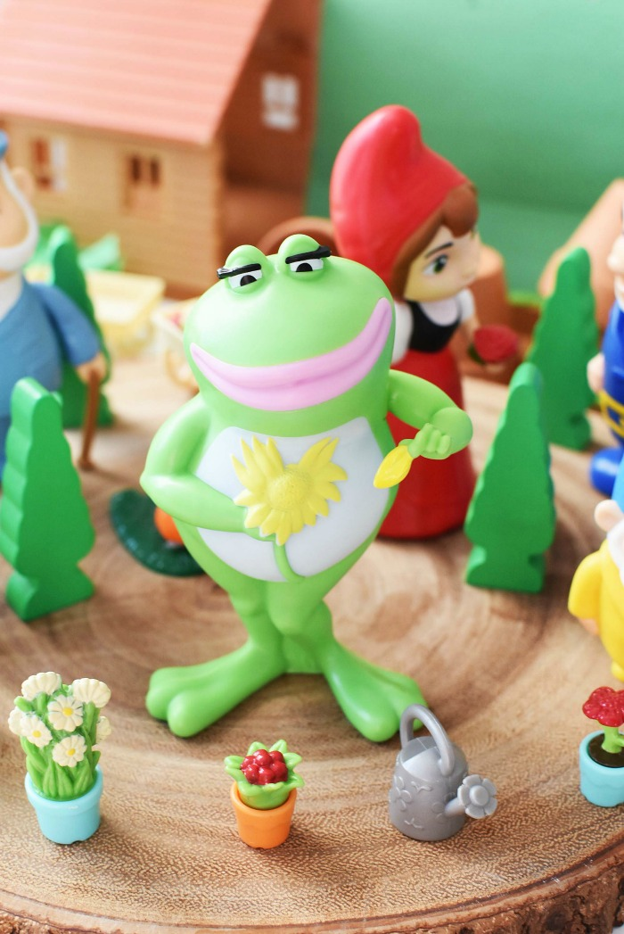 Nanette Frog Burger King toy