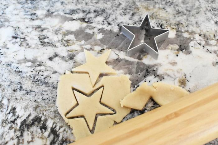 pie crust stars