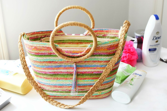 Straw Colorful Summer Bag 1