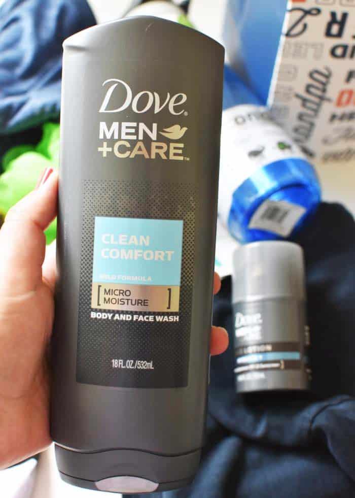 Dove Men + Care Clean Comfort Body Wash