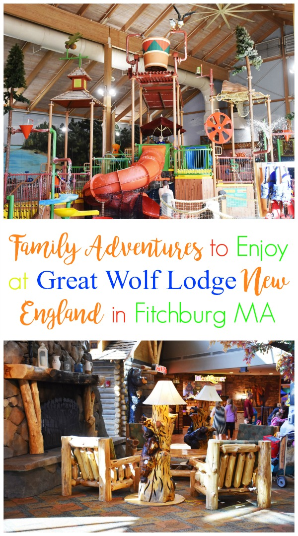 Near Boston, the Great Wolf Lodge resort in New England offers indoor waterpark fun and dry-land adventures for the entire family. There's something for everyone such as kid-friendly activities, a range of dining options, an adult-friendly wine down service, and more all under one roof.