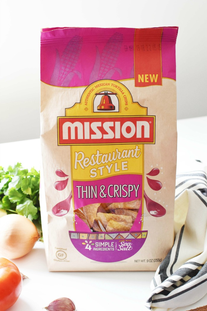 Mission Thin and Crispy Tortilla Chips Bag 1