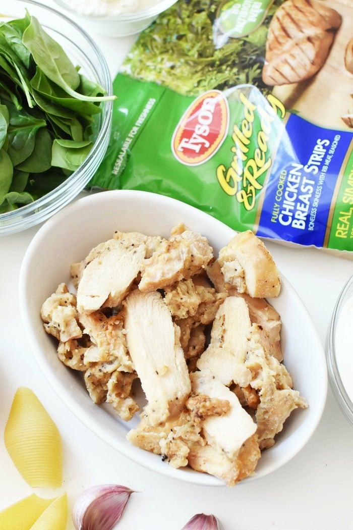 Tyson Grilled Chicken Strips 1